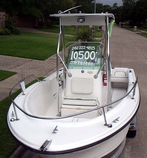 sold 1999 trophy center console 10 500 sold the - Trophy Center Console Boats Reviews