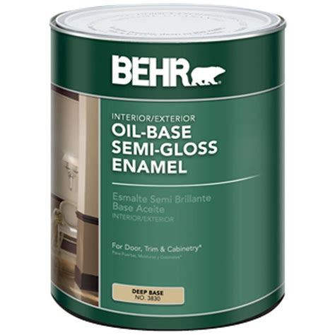 behr 5 gal base semi gloss based interior