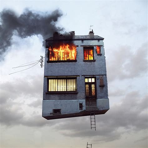 The Flying House by The Flying Houses Of Laurent Chehere