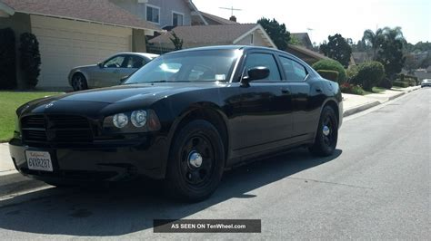 police charger 2009 dodge charger police package