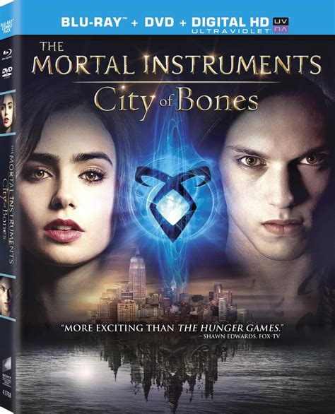 film of blu the mortal instruments city of bones dvd release date