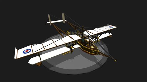 flying boat airplane simpleplanes steunk flying boat