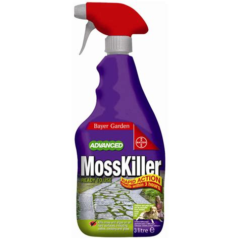 bayer moss killer ready to use 4 litre on sale fast