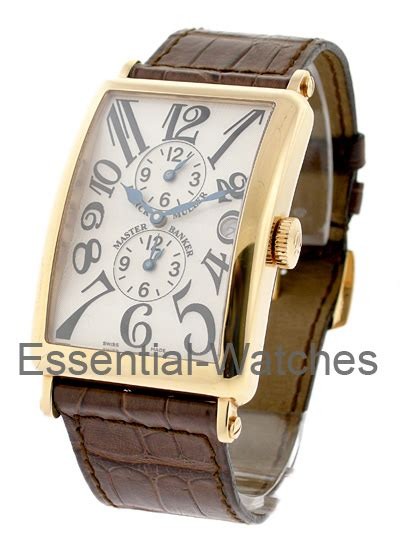 Frank Muller 017 esq esquire swiss with tachymeter 3 dolphins on