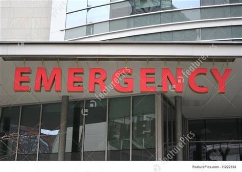 Pg Hospital Emergency Room Number emergency room sign photo