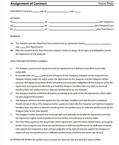 free business transfer agreement template contract transfer letter template 5 free word pdf