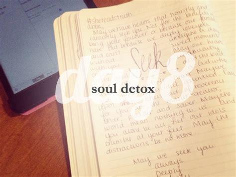 And Soul Lenten Detox by Day 8 She Reads She Reads