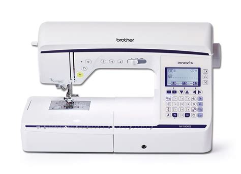 Quilting On Sewing Machine by Innovis 1800q Sewing Quilting Machine Domestic Sewing