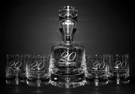 engraved taylor whiskey decanter set personalized