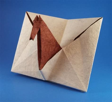Pop Up Origami Card - pop up card sy chen gilad s origami page