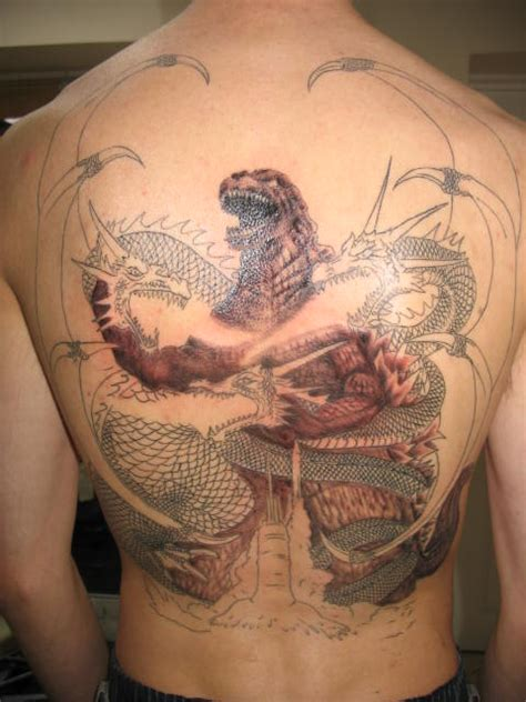 godzilla the ink captain s tattorium