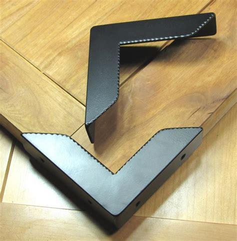 metal table corner guards rustic decorative corner protector hardware