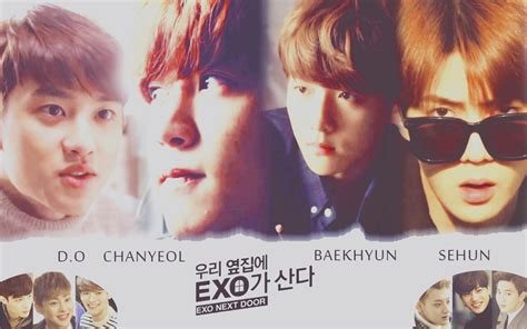 wallpaper exo next door exo next door wallpaper by luvkpop4eva