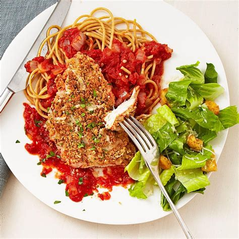 quick chicken parmesan recipe eatingwell