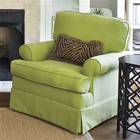 Upholstered Armchairs Living Room Design Ideas Upholstered Chair Design Tips Design Ideas For Living Rooms And Dining Rooms Southern Living