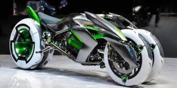 new bikes and cars kawasaki j three wheeler ev motorbike looks like a