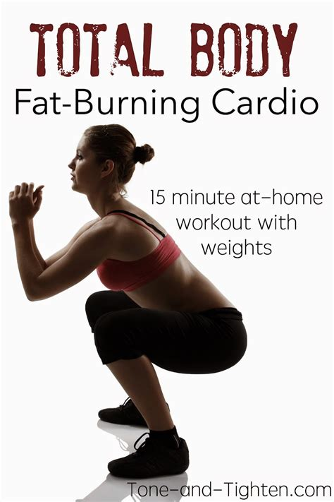15 minute burning cardio workout intermediate