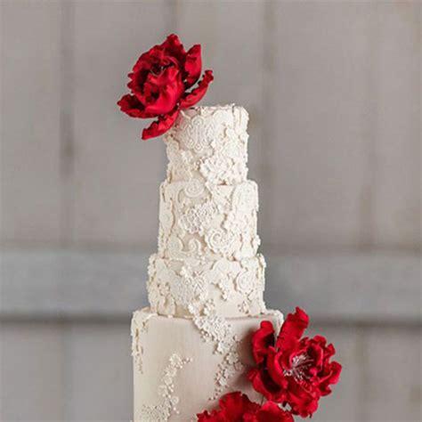 Wedding Cake Lace by Lace Wedding Cakes Brides