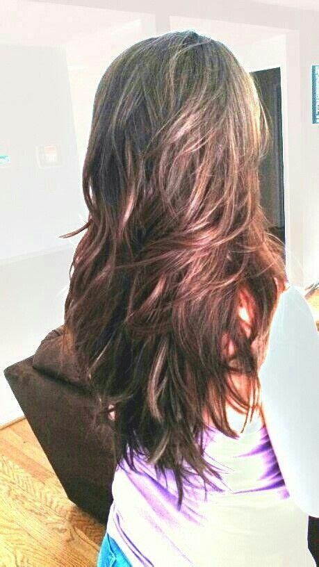 hir layer back pinterest long layered hair would love my hair to look like this