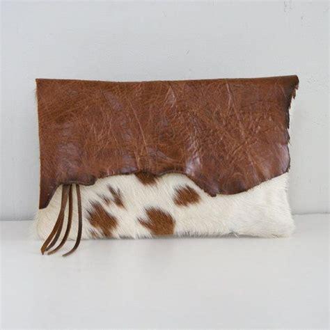 Cowhide Clutch - 1000 ideas about cowhide purse on western