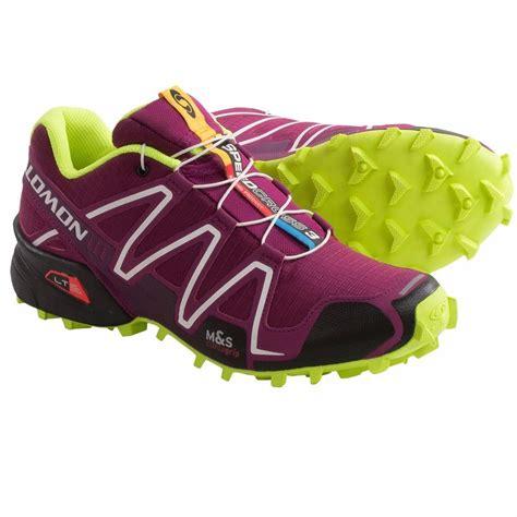 trail running hiking shoes new salomon speedcross 3 trail running hiking shoe 150