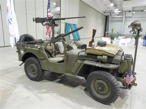 Armored Jeep 1941 4th Armored Division Jeep