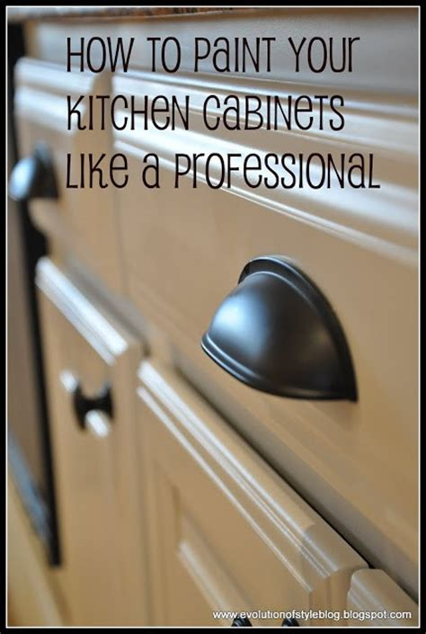 how to paint your kitchen cabinets like a professional say goodbye to oak grain evolution of style