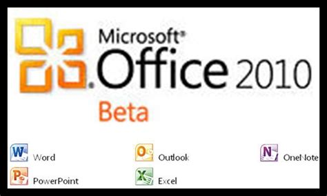 microsoft office 2010 beta for home business
