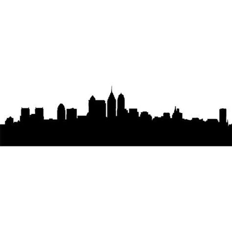 Skyline Outline by Houston Skyline Outline Clipart Best