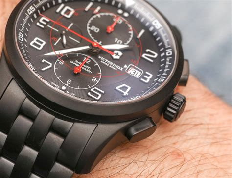 Swiss Army Hc8912whbr Chronograph victorinox swiss army airboss mechanical chronograph black edition 241741 review page 2