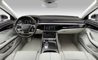 Audi A8 Interior India Bound New Audi A8 Luxury Sedan Unveiled Ndtv