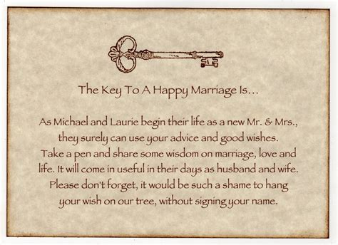Wedding Quotes Key by Key To Happy Marriage Quotes Quotesgram