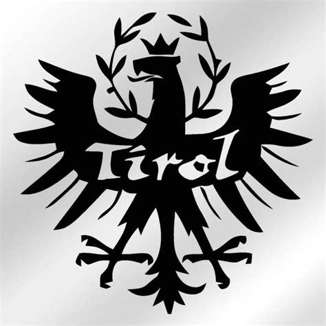 Aufkleber Drucken Tirol tirol adler aufkleber alfashirt