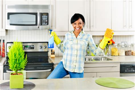cleaning kitchen how to effectively schedule your house chores