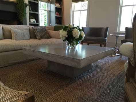 Concrete Coffee Tables You Can Buy Or Build Yourself Concrete Coffee Table Diy