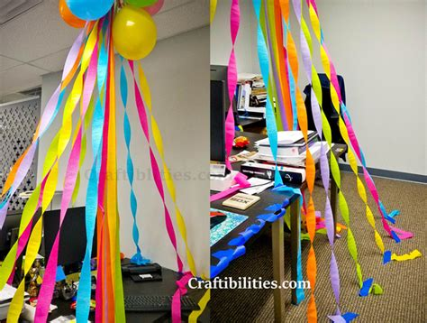 decorating coworkers desk for birthday birthday decorating at the office cubical desk idea