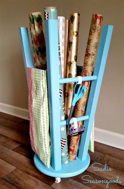 gift wrap storage ideas 8 practically free ways to diy your stuff into new storage