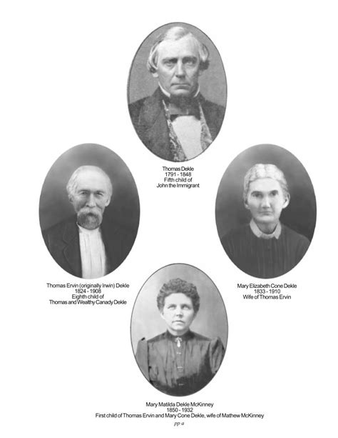 chazzcreations dekle family history family connections