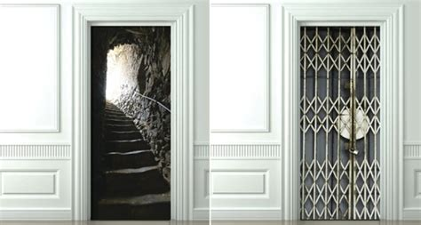 closet door covers trompe l oeil door covers make your broom closet exciting techcrunch