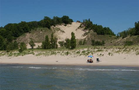 friendly beaches in michigan panoramio photo of grand mere state park