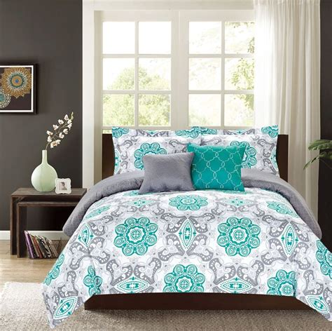 Grey And Teal Comforter Sets by Best 25 Teal And Grey Ideas On Teal Grey