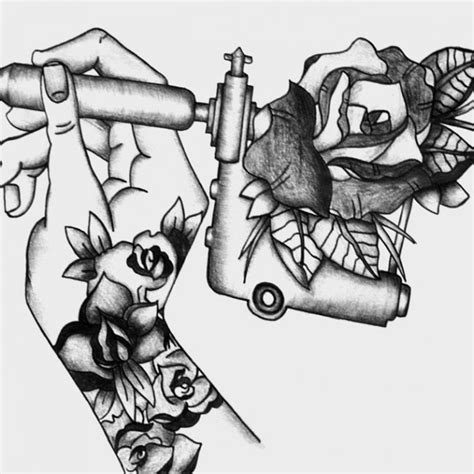 tattoo gun information tattoo gun drawing tattoo collections