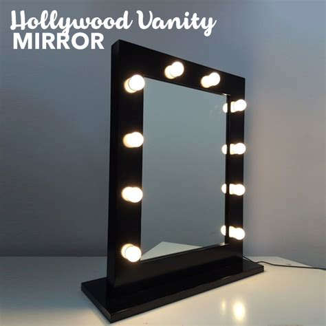 where to buy vanity mirror with lights vanity makeup mirror with lights in black buy