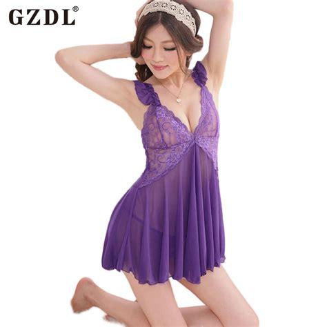 Special Dress Nightwear s bridal sheer lace floral nightwear dress g string chemise babydoll