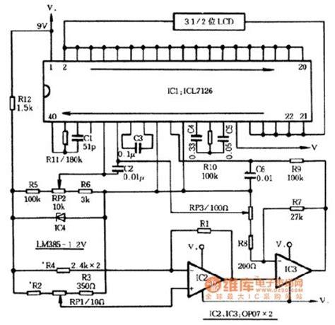 digital resistor ic sensor circuit circuit diagram seekic