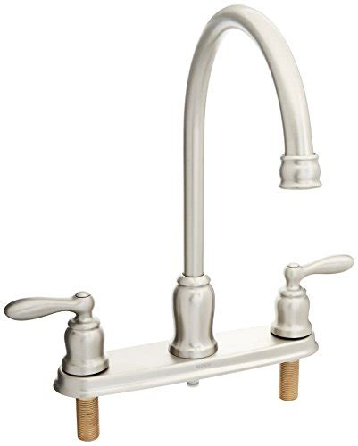 moen solidad kitchen faucet moen high arc kitchen faucet with side spray
