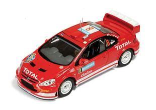 Peugeot 307 Wrc 8 Rally Sweden 2005 143 Ixo peugeot 307 wrc 8 die cast gotowy model