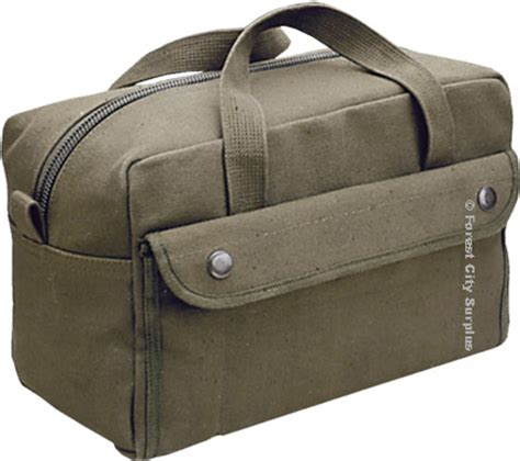 Oceanseven Cotton Bag World Traveler 9 heavy duty cotton canvas tech tool kit bags army style bags forest city surplus canada