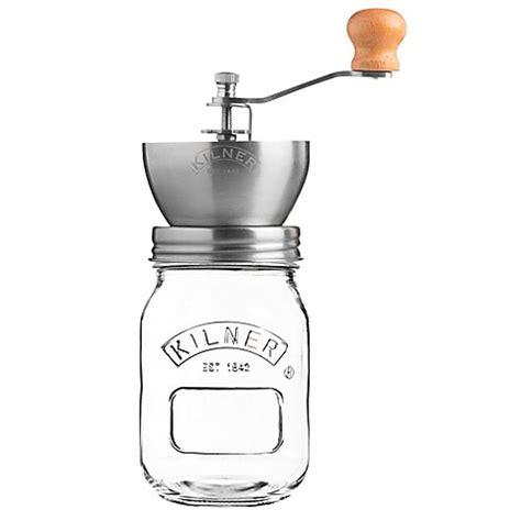 coffee grinder bed bath and beyond kilner 174 glass coffee mill grinder bed bath beyond