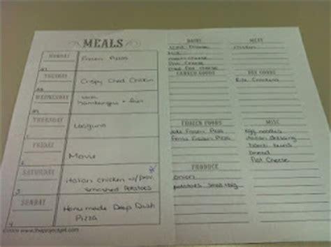 my daily food plan worksheet wiildcreative
